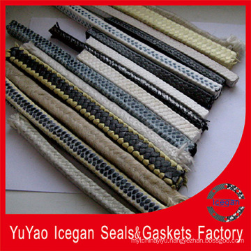Engine Parts Carbonized Fiber Braided Packing/Carbonized Fiber Braided Gland Packing
