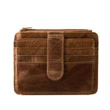 Credit Card Holder Genuine Leather Wallets Men