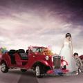 Coche eléctrico barato chino de 2 o 4 asientos, coche antiguo con CE para hacer turismo
