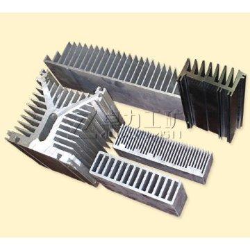 Aluminum CNC Heat Sink Profile