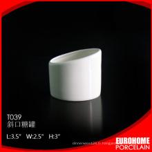 produits uniques de la cuvette en porcelaine porcelaine blanche sucre 2016