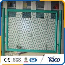 hohe Qualität 1,2 m 1,5 m hohe Baustelle temporäre Zaun, temporäre Stahlkonstruktion Zaun
