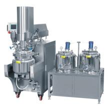 PLC Control Body Lotion Emulsifying Machine