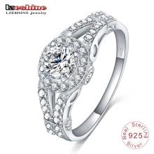 Diseño de anillo de plata de ley 925 para accesorios de joyería de niña (SRI0013-B)