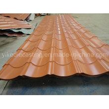 Feuille de toiture en acier ondulée galvanisée par 828model PPGI