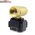 Gutentop Brass 2 Port Motorized Ball Valve ,Electric Ball Valve