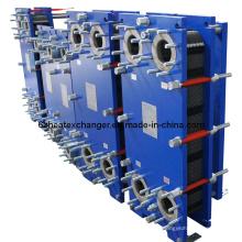 Intercambiador de calor de placas utilizado en aplicaciones marinas (igual a M3 / M6)