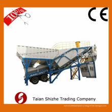 Компоновка готового бетона для мобильных бетонных заводов Завод 25 м3 / ч