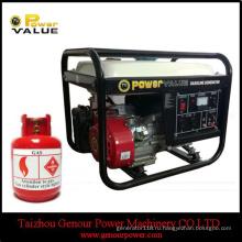 Газовый Двигатель Китай 2,8 кВт 2.8 ква газовый генератор для бытовых