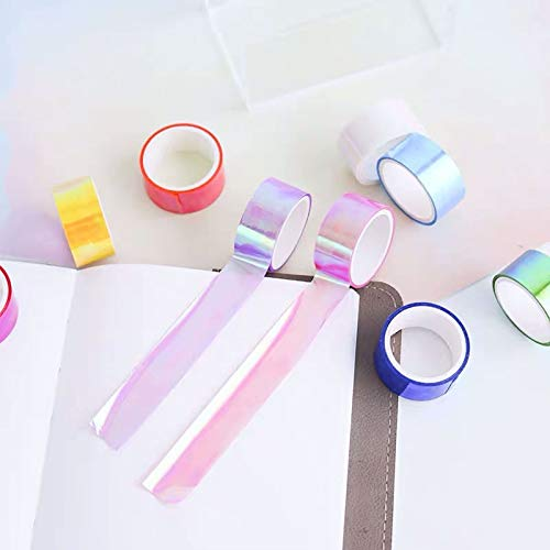Holographic Rainbow Colored Masking Tape 4