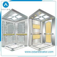 Cabine Etching da linha fina S. S para o elevador do passageiro, peças do elevador (OS41)