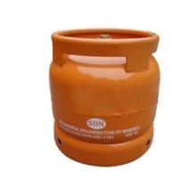 Cylindre de gaz de LPG et réservoir de gaz en acier (AS-LPG-6KGC)
