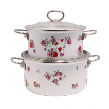 Hot Sale Enamel Coated Cooking Non Stick Sauce Pan