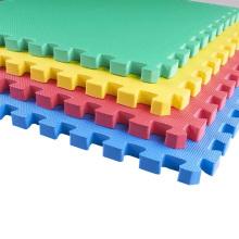 Non toxic Eva Foam Tile Puzzle Exercise floor Mat for kids wood grey thick 12x12 24x24 puzzle pieces