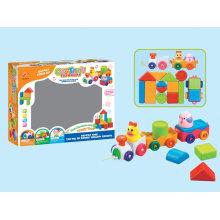 Brinquedo de bloco educacional para crianças