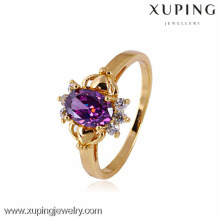 10833- Xuping Wholesale Hot Jewelry Diamond Engagement Ring