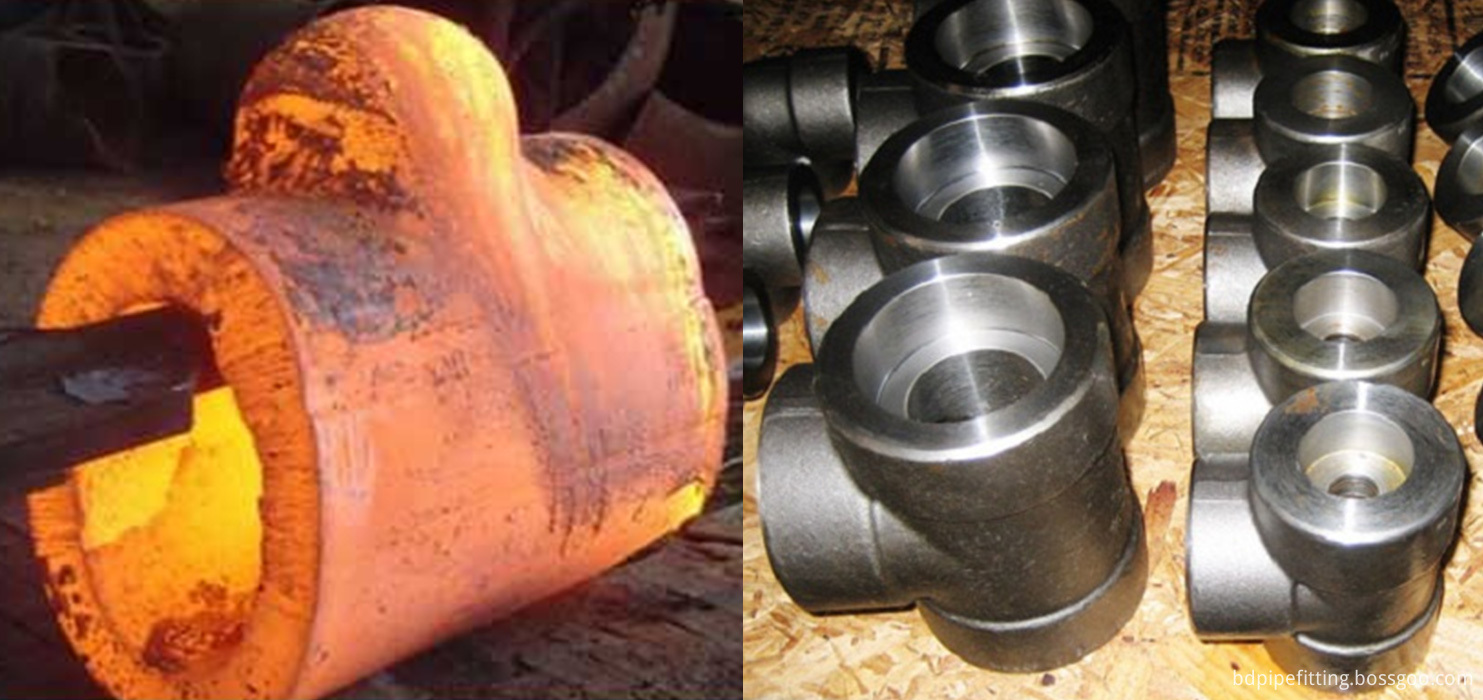 Carbon Steel Gr A234 WPB Butt weld Pipe Fittings