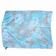 100% Polyester Scarf, Fashion Quality Printing, Customized Designs are Accepted