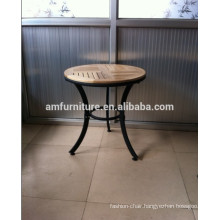 NEW DESIGN! outdoor furniture weather resistance stackable outdoor wood table