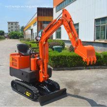 Mini excavadora hidráulica 1000kg con precios competitivos