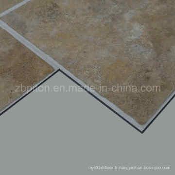 Tuile de plancher de vinyle de PVC d'installation facile d'installation