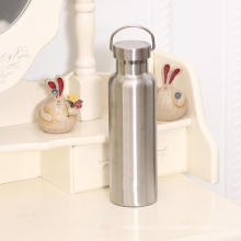 Botella de agua termal aislada con vacío portátil