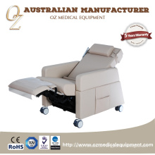 ISO Multi Funktion Elektrische Krankenhaus Blutspende Stuhl Transfusion Hohe Rückenlehne Stuhl Krankenhaus Ausrüstung