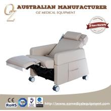 Équipement électrique hospitalier de chaise de transfusion de chaise de don de sang d'hôpital de fonction multi d'OIN