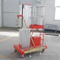 Plataforma de trabalho aéreo de mastro único 4-10M