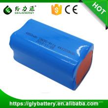 Bloco da bateria do Li-íon do elevado desempenho 3.7V 4800mah 18650 para ferramentas eletrônicas