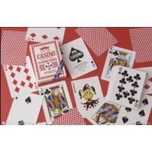 Branco de alto brilho da folha do PVC para a impressão do cartão de jogo