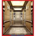 Beton & Ziegel Passagier Lift mit Hairline Edelstahl Auto Wand