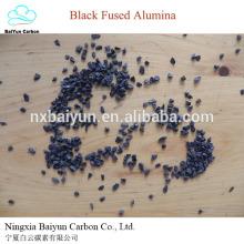 Precio de marrón / negro fundido alúmina / BFA / polvo de óxido de aluminio negro