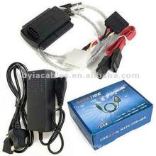 2.0 USB to SATA IDE S-ATA 2.5 3.5 HD HDD Adapter Cable