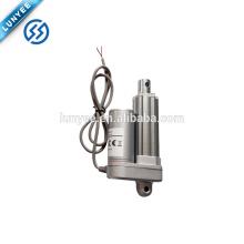 Atuador linear elétrico da CC do curso rápido da velocidade 100N 25mm mini 12V ou 24V