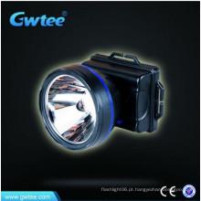 5 W super brilhante recarregável LED cabeça lâmpada