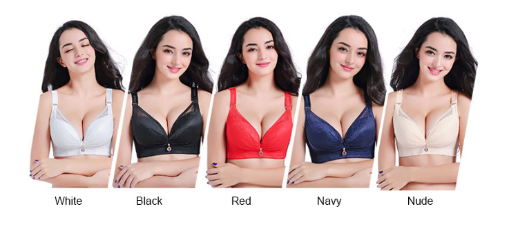 Women padded bra-color selection