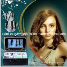 9 pulgadas Color Skin Detector Hair Scalp HD Analizador facial de la piel, graso, acné, agua y peluquería totalmente probada