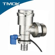 Válvula de fim de bronze do separador de água da linha masculina com preço barato em TMOK Valvula