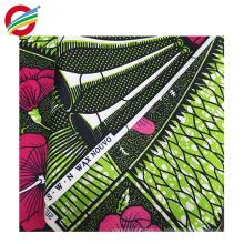 Сокращение-упорная африканский воск печатает ткань одежды для продажи