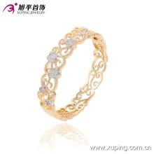 51365 популярные мода элегантный Королевский женщины золото ювелирные изделия браслет с цветком