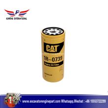 Pièces de moteur Cat Filtre d'huile à huile 1R0739