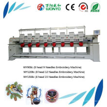 Wonyo 8 Head Industrial Tajima Tubular Embroidery Machinery