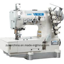 Zuker haute vitesse Pegasus plat grandes longueurs Interlock Machine à coudre (ZK 500-01CB)