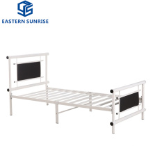 Home Furniture Fashion Design School Students Single Metal Dormitory Bed