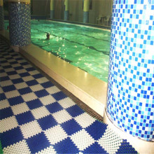 Interlocking Tiles Wet Area Mat Pisos de piscina