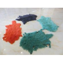 Natural Shape Mongolian Lamb Fur Skin
