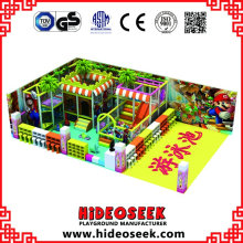 Mario Daycare Center Indoor Soft Playground Equipment en venta