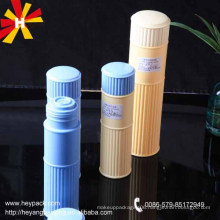 125/250ml round powder bottle cosmetic