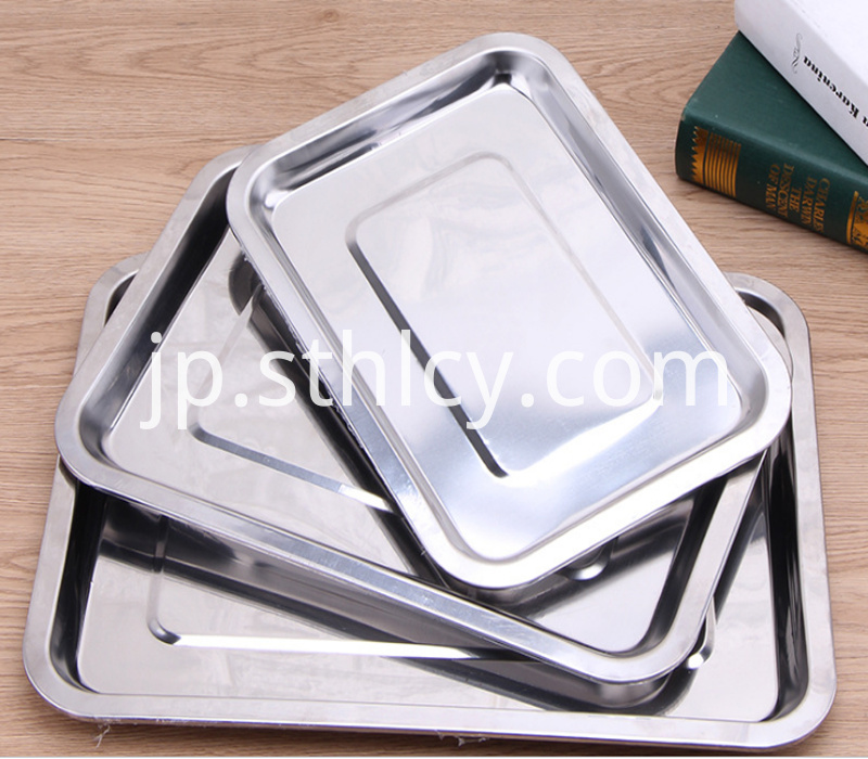 304 food grade stainless steel baking tray